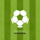 Football soccer playground logo sport vector illustration background - 153243029