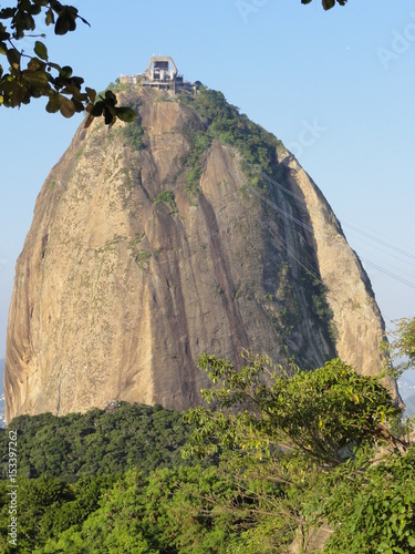 Plakat Sugarloaf mountain and view, Rio , Brazil