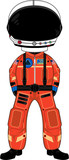 Cute Spaceman Astronaut - 153479816