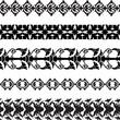 Seamless decorative borders - 153496411