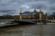 Pont Alexandre On A Cloudy Day In Paris