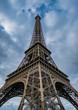Upward View Of The Eiffel Tower
