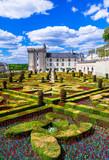 Most beautiful castles of Europe - Villandry in Loire valley, France - 153528025