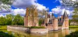 Romantic castles of Loire valley river - Chateau du Moulin - 153528057