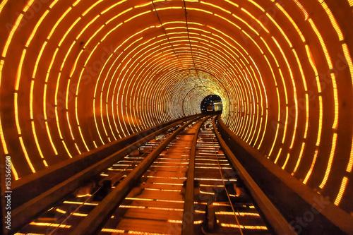 China - Shanghai - Bund Sightseeing Tunnel