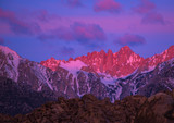 Mt Whitney at Daybreak