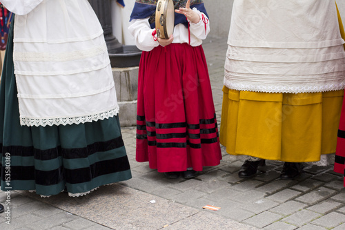 Traditional galician costume