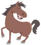 cute horse farm animal - 153584822