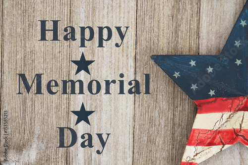 Poster Happy Memorial Day Greeting