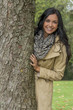 young woman with tree - 153794830