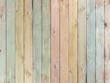 Leinwandbild Motiv wood background or texture with planks pastel colored
