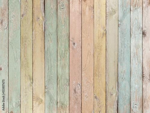 tło lub tekstura drewna z desek w pastelowych kolorach