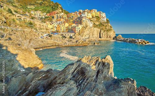 Manarola Cinque Terre Italy Coast