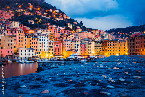 Fotobehang Liguria Camogli