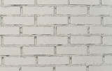 White brick wall close-up, background for your text