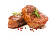 Grilled beef fillet steaks with spices - 153867033