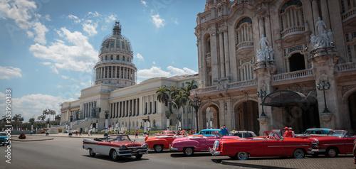 Spoed canvasdoek 2cm dik Havana Wunderschönes Kuba, Havanna