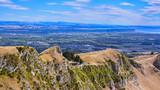 View from Te Mata Peak. Looking Toward Hawke's Bay - Napier, New Zealand