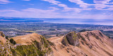 View from Te Mata Peak. Looking Toward Hawke's Bay - Napier, New Zealand