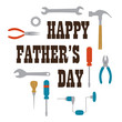 happy fathers day with tools
