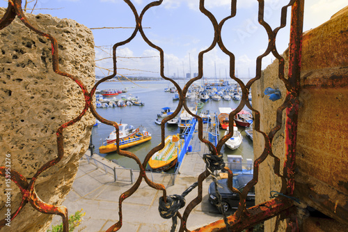 Fotobehang Marokko Old City of Acre.