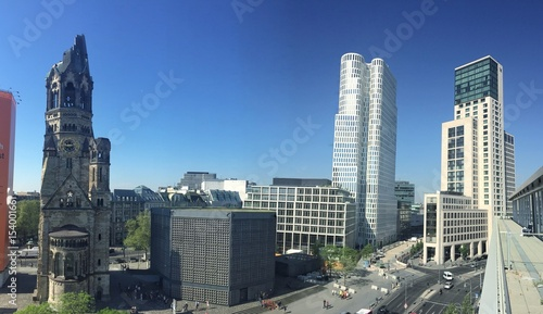 Leinwanddruck Bild berlin panorama
