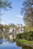 Palace on Water in Lazienki Park in Warsaw - 154049806