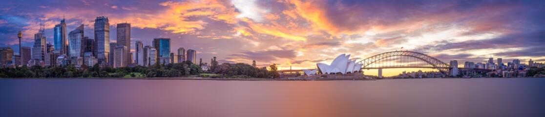 Sydney Harbour panorama