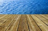 Holzveranda ma Wasser - 154171499