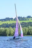 Segelboot auf dem Rottachsee