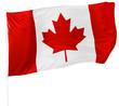 Canadian Flag isolated on white