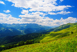 A beautiful view of the mountains of the Caucasus. - 154242648