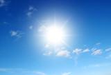 sun on blue sky - 154292288