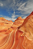 Wunderschöne Wave Landschaft aus Sandstein