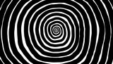 Illustration spiral, background. Hypnotic, dynamic vortex. - 154331644