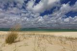 Beach on an island in Ria Formosa, Portugal