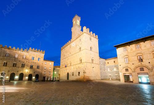 Deurstickers Toscane Volterra