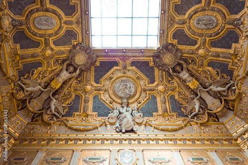 Louvre Museum Interior Poster