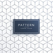 minimal geometric line pattern background in hexagonal shape - 154606489