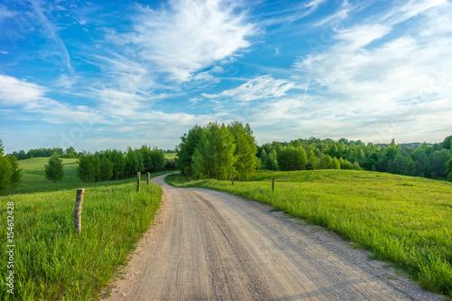 Spring landscape - 154612428
