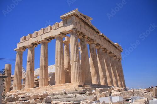 Athènes - L'acropole - Le Parthenon Poster