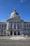 Historic San Francisco City Hall. Vertical.