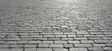 Old cobblestone pavement. - 154747022