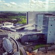 Luxebourg Kirchberg view towers