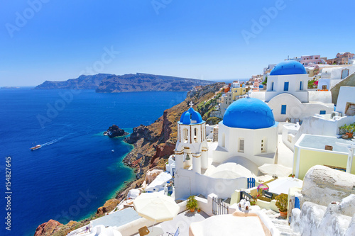 Foto op Canvas Europa Beautiful Santorini