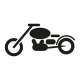 Motorrad Icon - Motorcycle icon for apps and websites
