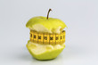 apple on with tape measure - 154910065