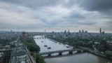 Day to night London timelapse from the top of Millbank Tower - 154979098