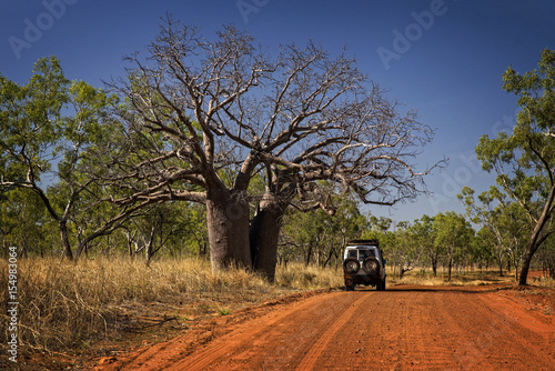 Foto op Canvas Baobab Outback Track at the Kimberleys - Western Australia