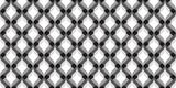3D wavy geometric background. Seamless pattern. Vector.3Dなみなみ幾何学パターン